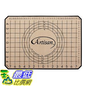 [美國直購] Artisan 80708WH 不沾黏矽膠烘培墊 1/2 size Silicone Pastry/Baking Mat