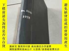 二手書博民逛書店NITROGEN罕見Nos 111-116 1978 氮Y212
