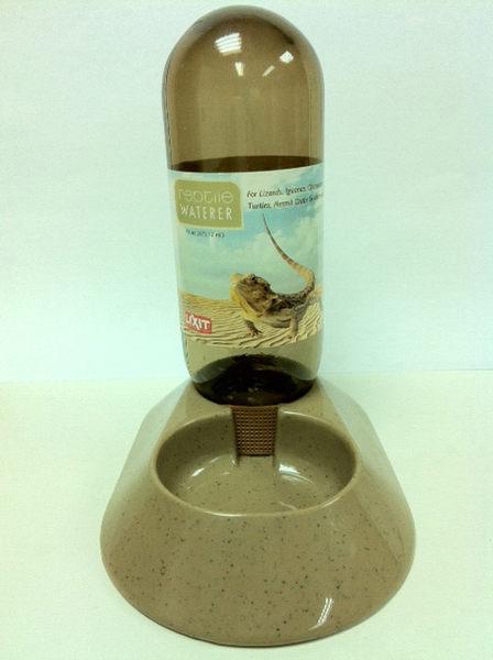 立可吸 RW-16烏龜蜥蜴兩棲爬蟲飲水器 自動飲水瓶 給水器 -480c.c.大容量 美國寵物第一品牌LIXIT®