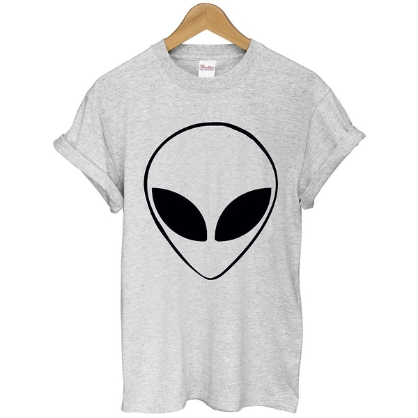 ALIEN HEAD短袖T恤 2色 外星人太空趣味Gildan相片火箭銀河宇宙潮290 fruit