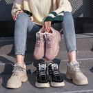 休閒鞋   老爹女鞋子新款冬鞋冬款百搭秋冬休閒運動鞋ins潮加絨二棉鞋   伊蘿鞋包