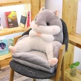 午睡枕多功能倉鼠抱枕被子兩用珊瑚絨靠墊靠枕靠背辦公室午睡三合一毯子