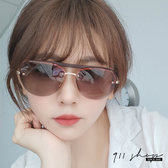 Gaze.MIT台灣製。一槓粗框半框大橢圓偏光太陽眼鏡【f5059】911 SHOP