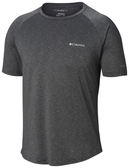 【Columbia】男UPF50快排短袖上衣-灰
