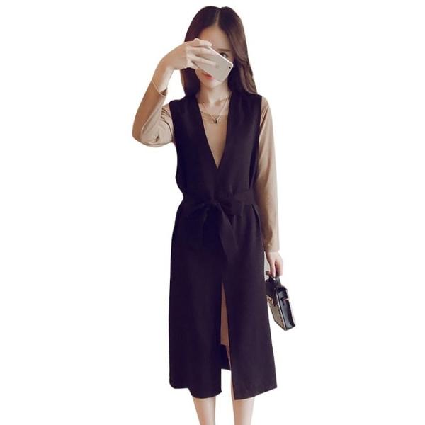 大碼女裝年初秋新款潮秋冬季歐貨洋裝子網紅時尚女兩件套裝 蜜拉貝爾