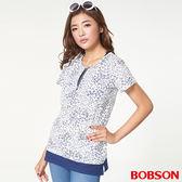 BOBSON 女款仿兩件式上衣   (27078-01)