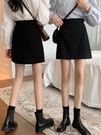 A字裙 夏季2021年新款小個子高腰裙子半身裙早春女裝黑色A字包臀裙短裙 夢藝家