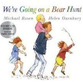 『輕鬆聽出英語力--第10週』『繪本123‧吳敏蘭老師書單』-- - WE'RE GOING ON A BEAR HUNT /書+CD