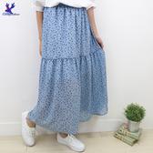 【春夏新品】American Bluedeer - 碎花鬆緊長裙