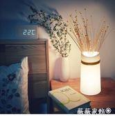 歐式台燈 台燈臥室床頭燈創意溫馨簡約現代陶瓷宿舍書房書桌護眼房間燈禮物 MKS薇薇家飾