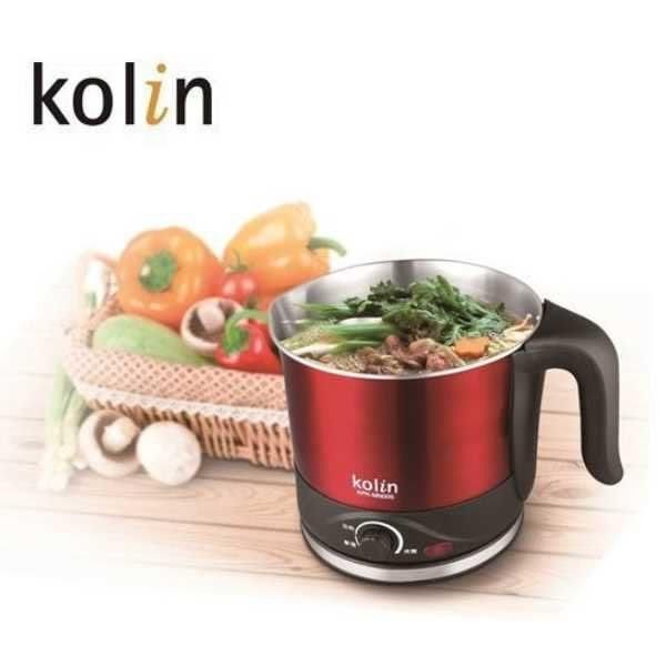 Kolin 歌林 1.5L晶彩不鏽鋼美食鍋 KPK-MN005