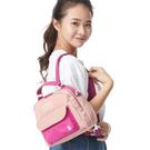 經典格紋和防潑水斜紋布,輕量3用包款 前袋使用便利磁扣,休閒與機能兼具