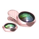 LIEQI 原廠正版高清專業自拍神器 0.6X 廣角 微距 鋁合金外殼ABS夾子 二合一夾式手機鏡頭