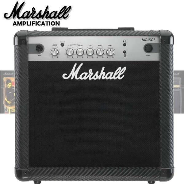 【非凡樂器】Marshall MG15CF 經典電吉他音箱 / 贈導線 公司貨保固