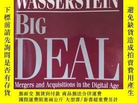 二手書博民逛書店big罕見deal mergers and acquistion