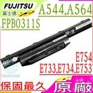 Fujitsu 電池(原廠) -富士 FPCBP416,A544,AH544,FPCBP405,FMVNBP227,FMVNBP231,FPCBP434,E556,FPCBP449