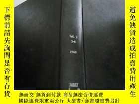 二手書博民逛書店applied罕見optics vol.2 1-6 1963 (應用光學)Y212829 上海化工研究院 上海