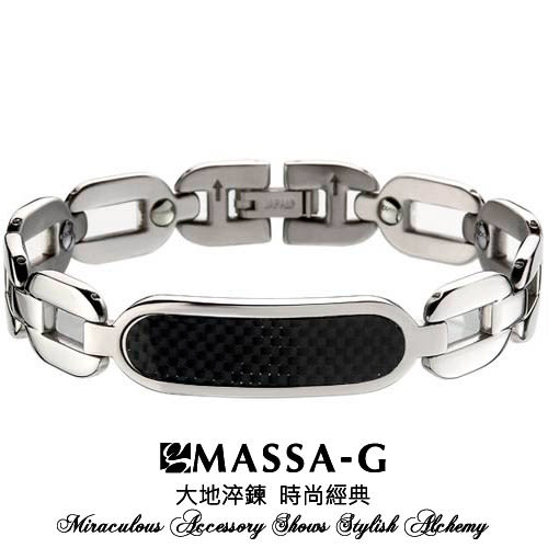 Titan Ge32 鍺鈦能量手環  MASSA-G Deco系列