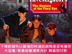 二手書博民逛書店The罕見Mystery Of The Fiery Eye (alfred Hitchcock & The Thr