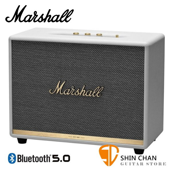 Marshall Woburn II 藍牙喇叭 經典白 全新2代 Woburn Ⅱ 無線喇叭 藍牙音箱音響 / 台灣公司貨