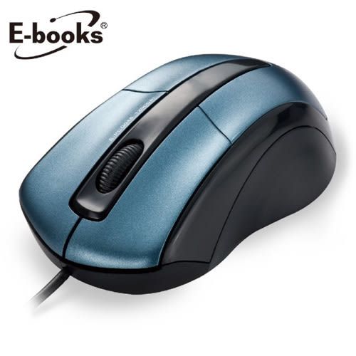 【E-books】M10 藍翼 1200dpi 光學滑鼠
