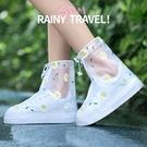 鞋套防水防滑兒童下雨天雨鞋套加厚耐磨水鞋硅膠雨靴套防雨腳套女【八折搶購】