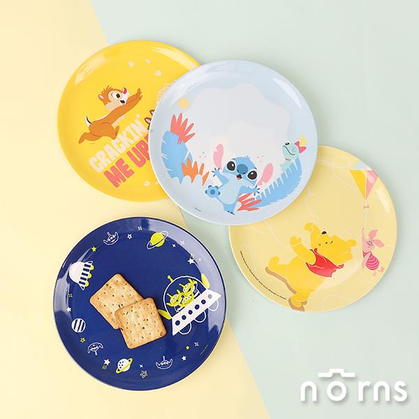 迪士尼系列美耐皿餐盤- Norns Disney正版授權 盤子餐具 小熊維尼 奇奇蒂蒂 史迪奇 三眼怪