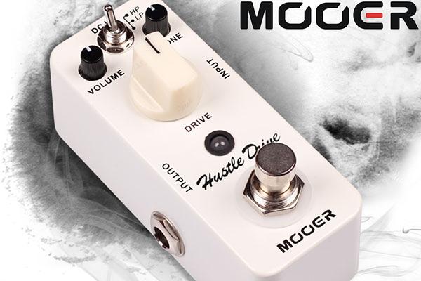 小叮噹的店 - MOOER 失真單塊 Hustle Drive (MREG-HD) 效果器