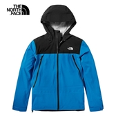 The North Face 男 FUTURELIGHT 防水透氣連帽衝鋒衣 藍 NF0A46LAME9【GO WILD】