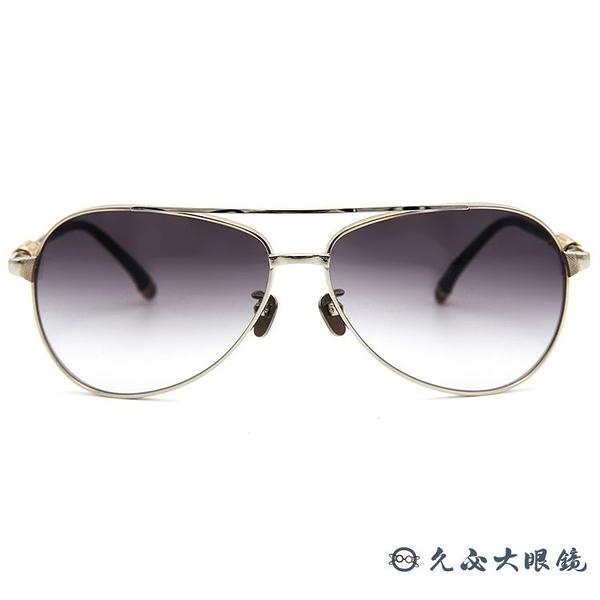 Frency&Mercury 日本手工眼鏡 純鈦 太陽眼鏡 Agent SS 銀 久必大眼鏡
