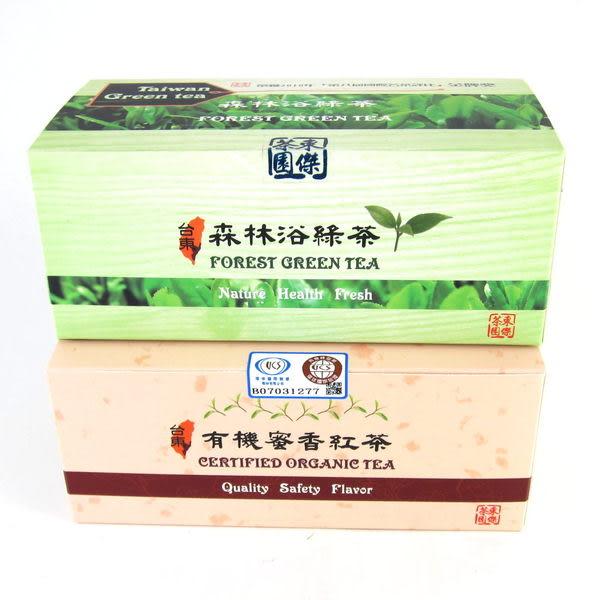 台東有機蜜香紅茶(25入)-東傑茶園