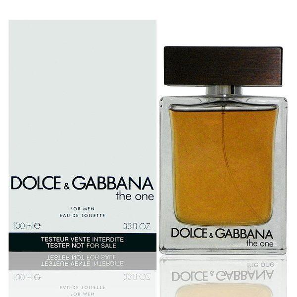 Dolce & Gabbana The One 唯我男性淡香水 100ml Tester 包裝