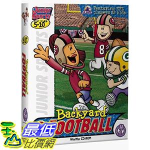 [106美國暢銷兒童軟體] Backyard Football B001647LUG