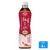 愛健萬丹紅紅豆水530ml x4【愛買】