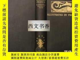 二手書博民逛書店法朗士罕見著《珍珠之母》Frank C. Pape版畫插圖 ,1
