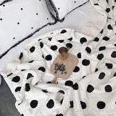 黑五好物節 【網紅波點加厚羊羔絨毛毯被子】雙層兒童單雙人珊瑚絨法萊絨床單 igo