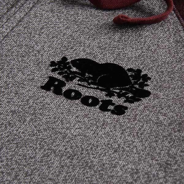 Roots - 男裝 - ROOTS 經典連帽外套 - 灰色