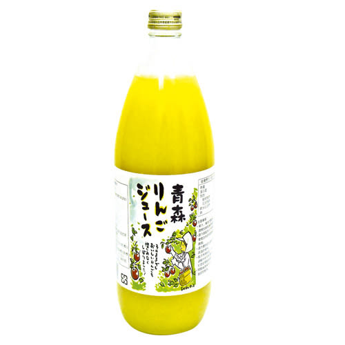 日本青森蘋果汁1000ml*2【愛買】