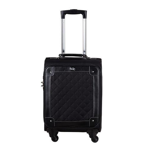 COSSACK ELEGANCE優雅系列布箱 行李箱/旅行箱23吋-黑色-