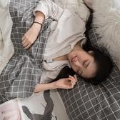 【預購】白大理石  加大床包+7X8尺新式兩用被五件組  100%精梳棉  台灣製 棉床本舖