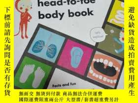 二手書博民逛書店罕見~My Head-to-Toe Body BookY1564