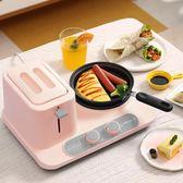 多功能早餐機三合一多士爐吐司家用烤面包機多功能吐司機三合一早餐機家 潮流衣舍