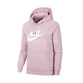 Nike 長袖T恤 NSW Hoodie 紫 白 女款 帽T 馬卡龍色 粉紫 運動休閒 【ACS】 BV4127-645