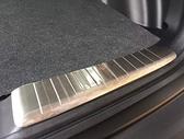 《預購》17-18全新CRV5後保桿內置護板 HONDA CR-V 5代不鏽鋼後行李箱護板飾條(兩片)