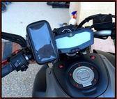 kymco g6 150 racing brembo ktr bws smax奔馳摩托車導航車架新勁戰機車導航改裝手機架