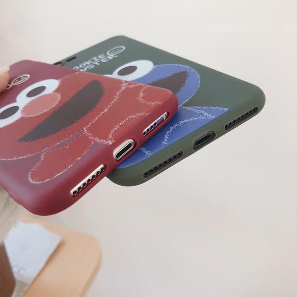 【SZ15】卡通軟殼趣味芝麻街 iphone XS MAX手機殼 iphone XR XS手機殼 iphone 8plus手機殼 i6s plus手機殼iphone X