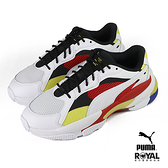 Puma Lqd Cell Epsilon 白色 皮質 運動休閒鞋 男女款 NO.B1290【新竹皇家 37190901】