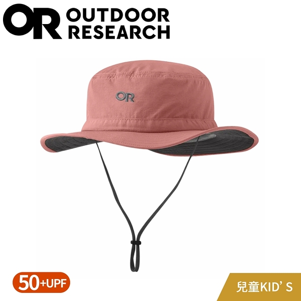 【Outdoor Research 美國 兒童款 抗UV透氣大盤帽《粉灰》】279929/透氣防曬帽/登山健行