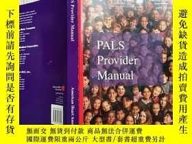 二手書博民逛書店PALS罕見Provider ManualY270041 請看圖