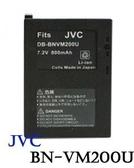 【晶豪泰】KAMERA JVC BN-VM200U  副廠 鋰電池 MC100,MC200,MC500